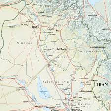 map of irak map of northern iraq institute for the study of war