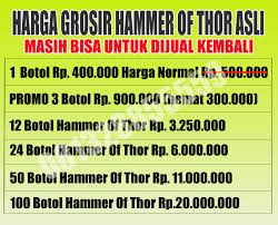 hammer of thor asli di bangli 081328855559 distributor hammer of