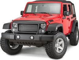 rugged ridge 12034 01 spartan grille system for 07 17 jeep