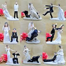 unique cake topper wedding cake toppers figurine groom humor favors