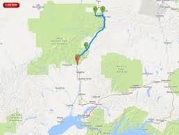 denali national park map denali national park mt mckinley