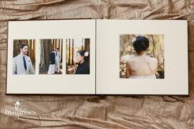 8x10 Album Delicious Leather Wedding Album U2022 Two Irises