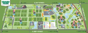grand map field maps grand park