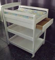 White Baby Change Table White Baby Change Table With Draw Aud 50 00 Picclick Au