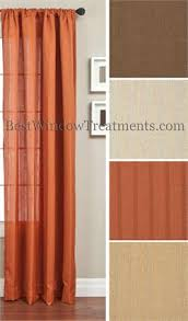 Orange And Brown Curtains Orange Curtains Rust Pumpkin Copper Bronze Terracotta Burnt