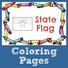 california state flag coloring page usa facts for kids learn about the united states