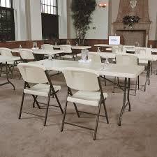 Lifetime 6 Folding Table Furniture Idea Alluring Costco Folding Tables Combine With