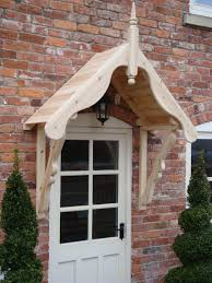 Sunsetter Roof Brackets by Timber Front Door Canopy Porch 1050mm