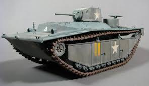 amphibious vehicle ww2 lvt a1 revell 1 35 scale