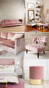 pink velvet furniture is actually trending i want one in my home