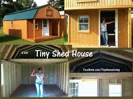 cheapest tiny homes tiny shed house great way to get started when you u0027re in a tight