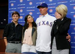 Joseph R Banister Texas Rangers Photos Rangers Introduce Jeff Banister As New