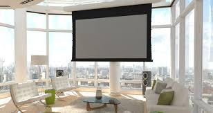 ambient light rejecting screen stewart filmscreen launches phantom high ambient light rejecting