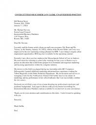 cover letter internship examples no experience application letter