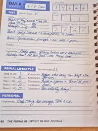 primal blueprint 90 day journal mark sisson book in stock