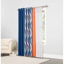 Energy Efficient Curtains Mainstays Helix Blackout Energy Efficient Grommet Curtain Panel