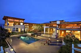 luxury exterior design of the modern best home pictures with great