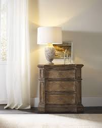 16 Nightstand Hooker Furniture Bedroom Solana Three Drawer Nightstand 5291 90016