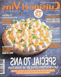 cuisines et vins de abonnement magazine cuisine luxe abonnement magazine cuisine