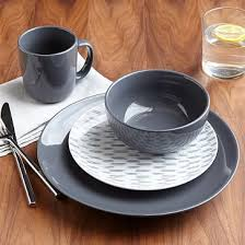 palette dinnerware set slate westelm dinnerware apartment