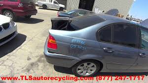 parting out 2005 bmw 325i stock 5134bl tls auto recycling