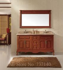Oak Bathroom Cabinets by Online Get Cheap Oak Bathroom Furniture Cabinets Aliexpress Com