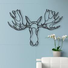 Moose Themed Home Decor by Moose Wall Art Shenra Com