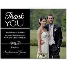 design wedding thank you photo cards simple pose picture