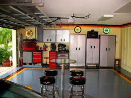 one car garage man cave ideas your dream garage man cave ideas
