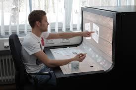 bureau tactile bend desk le bureau des générations futures pixelstrade webzine