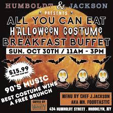 halloween costume breakfast buffet at humboldt and jackson