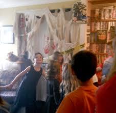 a kids halloween party a terrifying haunted house u003d traumatized