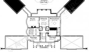 Gatsby Mansion Floor Plan Newport Hall Residential House Plans Luxury House Plans