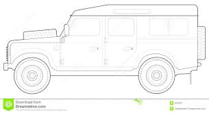 vintage land rover defender 110 land rover 110 stock illustration image of terrain rover 945221