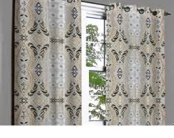 White Lined Curtain Panels Lined Linen Curtains Etsy