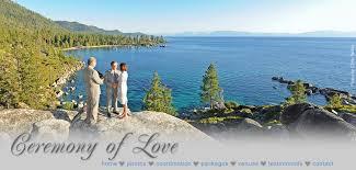 lake tahoe wedding packages lake tahoe wedding packages ceremony of