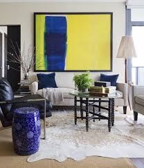 Large Artwork For Living Room by Standout With Big Bold Beautiful Art Utr Déco Blog