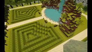 minecraft garden home design ideas