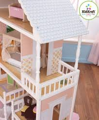 kidkraft dollhouse savannah 4 levels doll mansion kit with 14