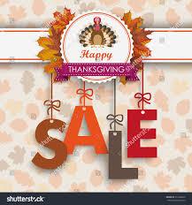 text sale thanksgiving emblem turkey autumn stock vector 312396266