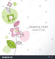 wedding wishes card template greeting card template simple artistic stock vector