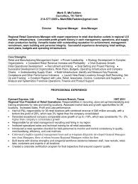 Retail Operation Manager Resume Download Operations Manager Supervisor In Dallas Tx Resume Erin