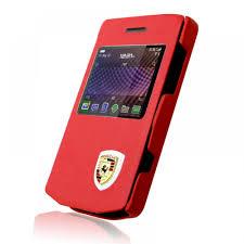 porsche design blackberry case cover for blackberry porsche design p9981 in red