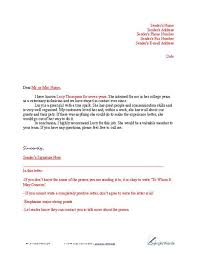 Reference Page For Resume Format Sample Letters Of Reference Sample Letter Of Recommendation For