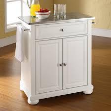 crosley furniture kitchen island furniture alexandria stainless steel top kitchen island