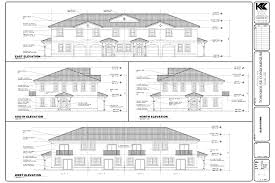 Small One Level House Plans Elevation Plan View Small One Level House Plans Elevations And Of