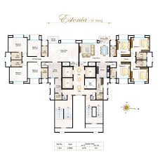 West Wing Floor Plan Floor Plan Sura Estate Consultancy Hiranandani Heritage At