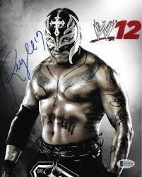 rey mysterio jr memorabilia autographed u0026 signed