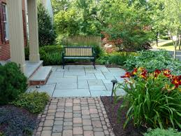 house landscape front yard landscaping ideas with rocks and mulch