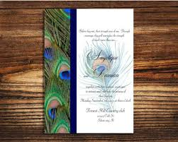 peacock wedding invitations peacock wedding invitations reduxsquad